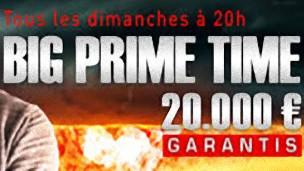 jouez un des plus gros tournois de la toile sur MyJoaPok, Le Big Prime Time assure 20 000 € de prize pool