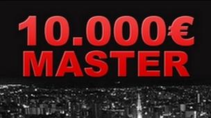 Tous les lundis le 10 000€ Master de Myjoapok