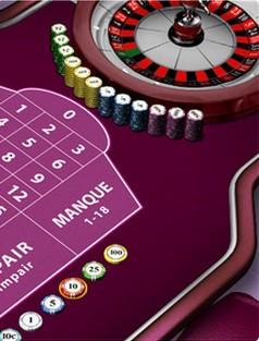 la roulette du casino JOA