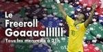 Tournoi spécial Freeroll Goal sur JOA