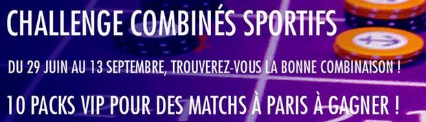 Le Challenge Combinés Sportifs sur JOA.