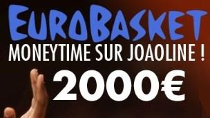 Pariez sur l'EuroBasket avec JOA Online