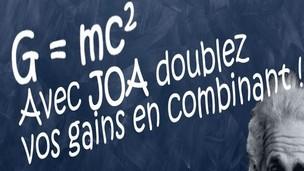 JOA Sport : offre pari combiné