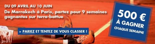 4.500€ mis en jeu pour le Challenge Terre Battue de JOA Online