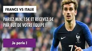 Pronostiquez le vainqueur de France-Italie avec JOA Online