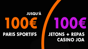 Bonus sport JOA Bet