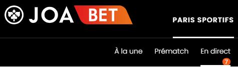 offre de paris en direct JOABet.fr